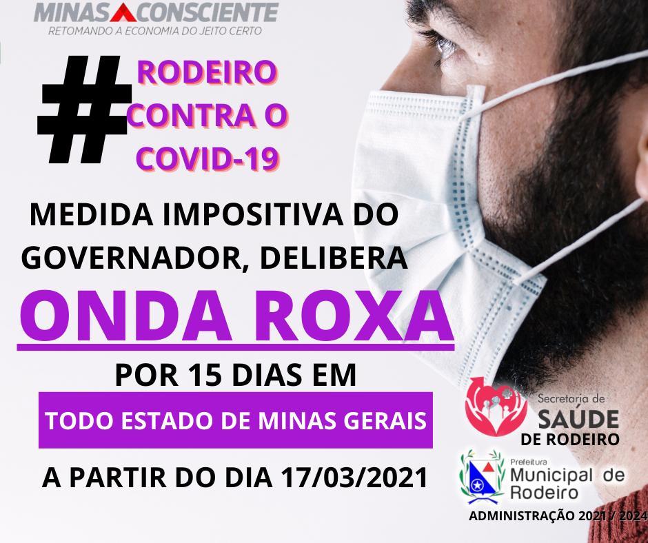 Adesão do município à Onda Roxa