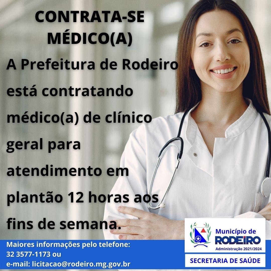 Contrata-se Médico(a)