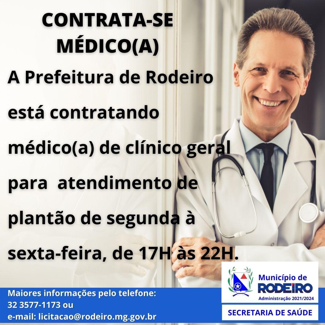 Contrata-se Médico (a)