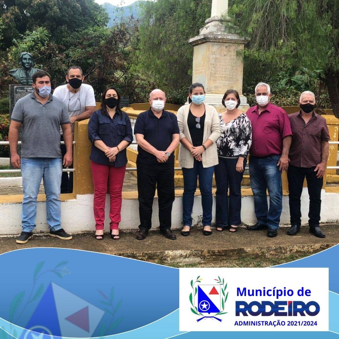Deputado Estadual Bráulio Bráz assina termo de compromisso com as cidades de Rodeiro e Guidoval