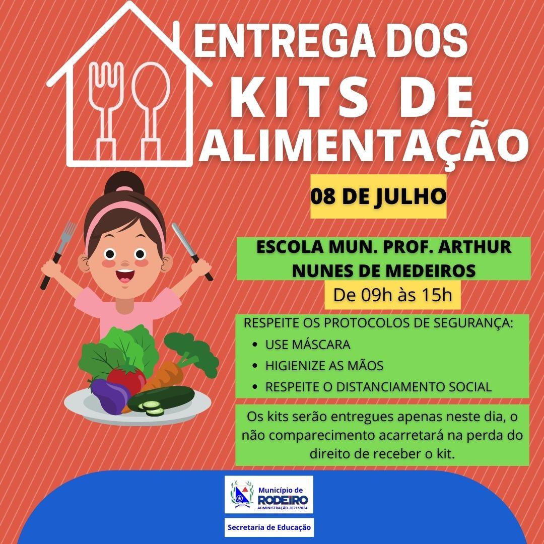 Entrega do Kit Alimentação