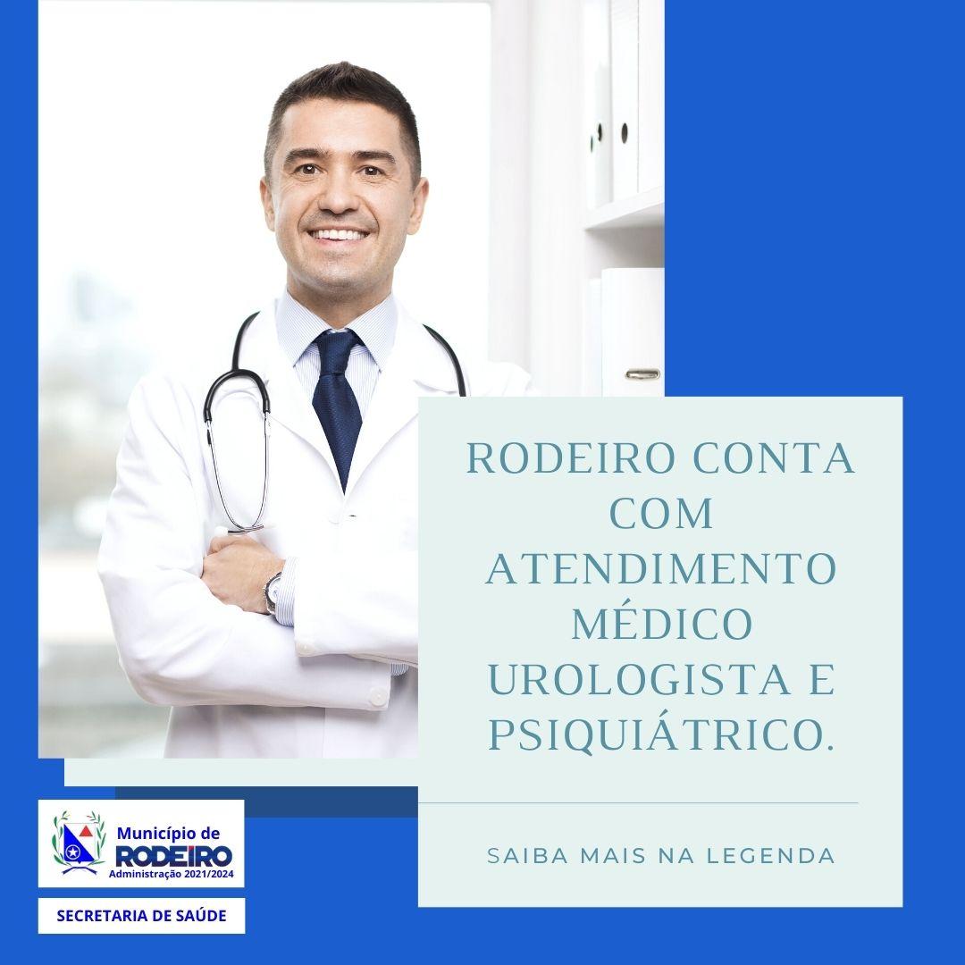 NOVAS ESPECIALIDADES MÉDICAS EM RODEIRO