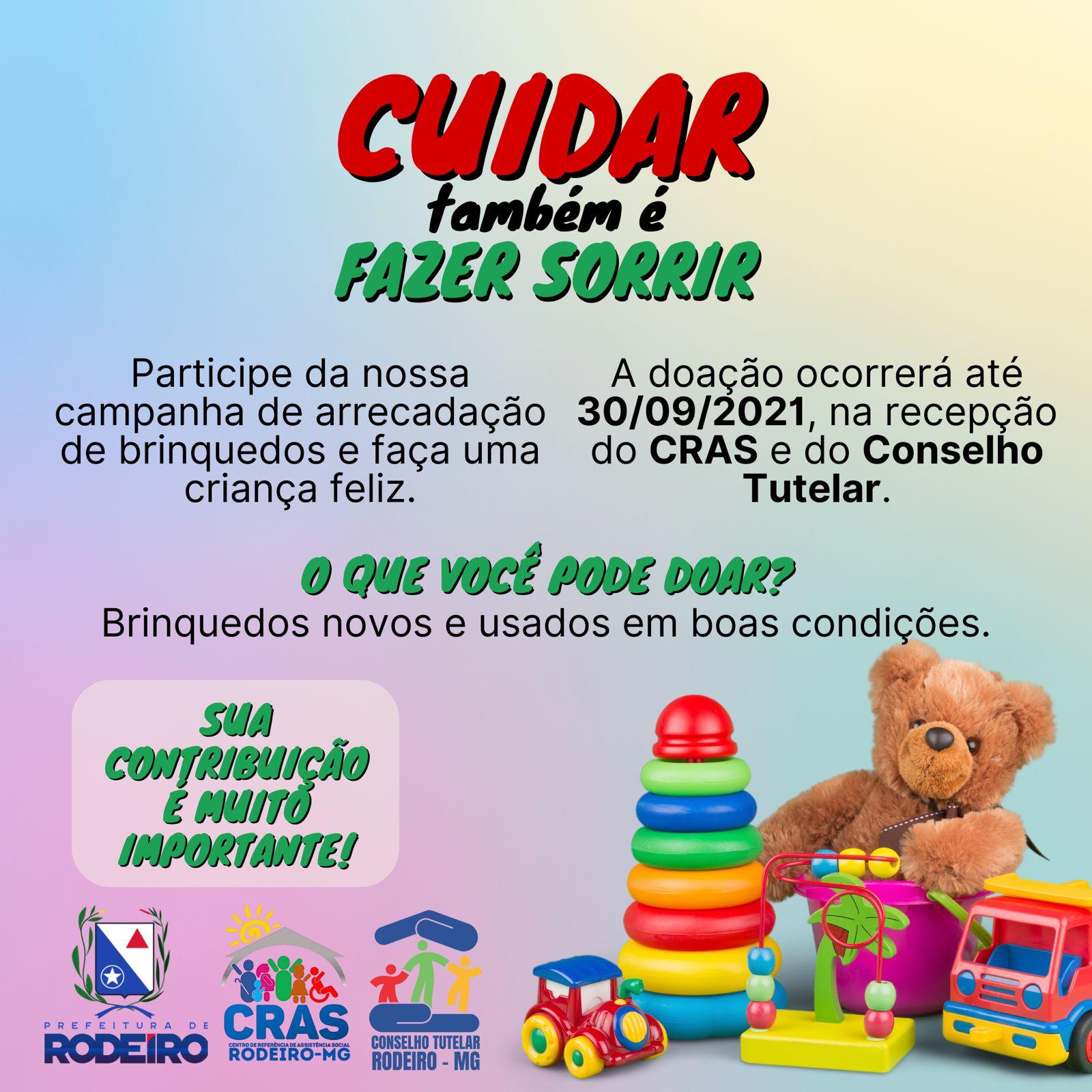 CAMPANHA DE ARRECADAÇÃO DE BRINQUEDOS