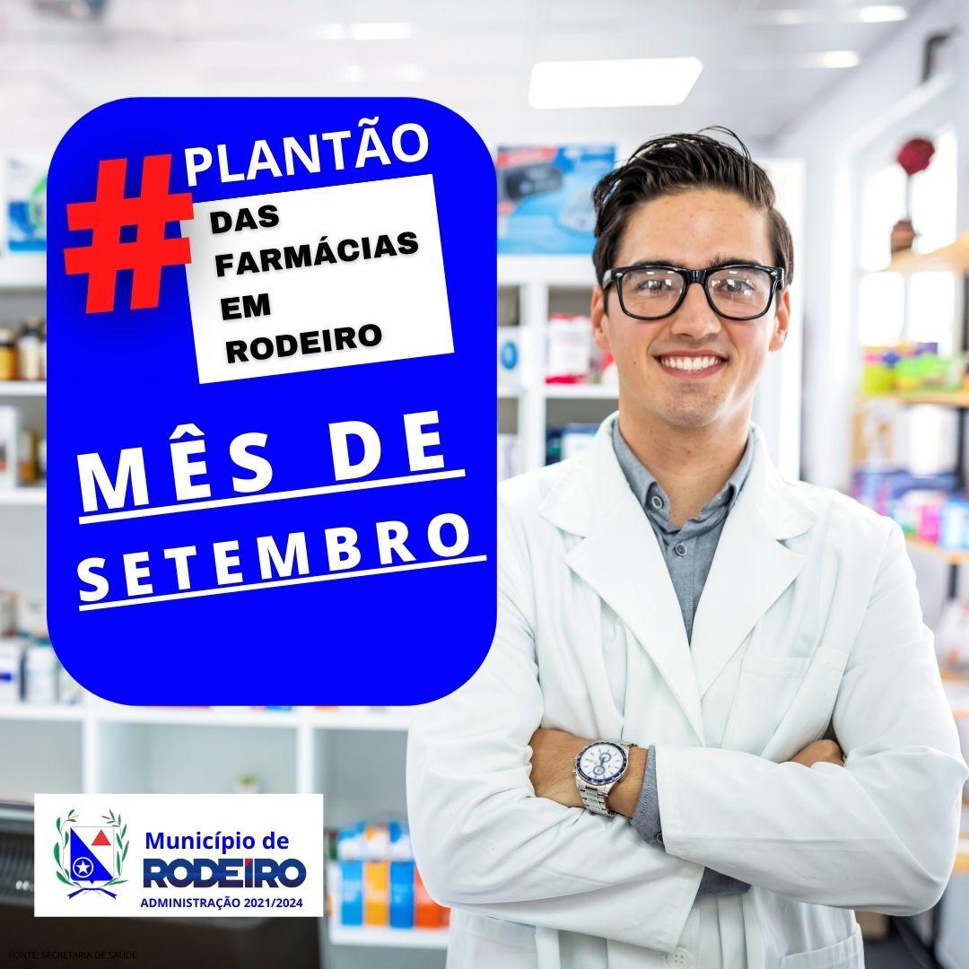 Plantão das farmácias