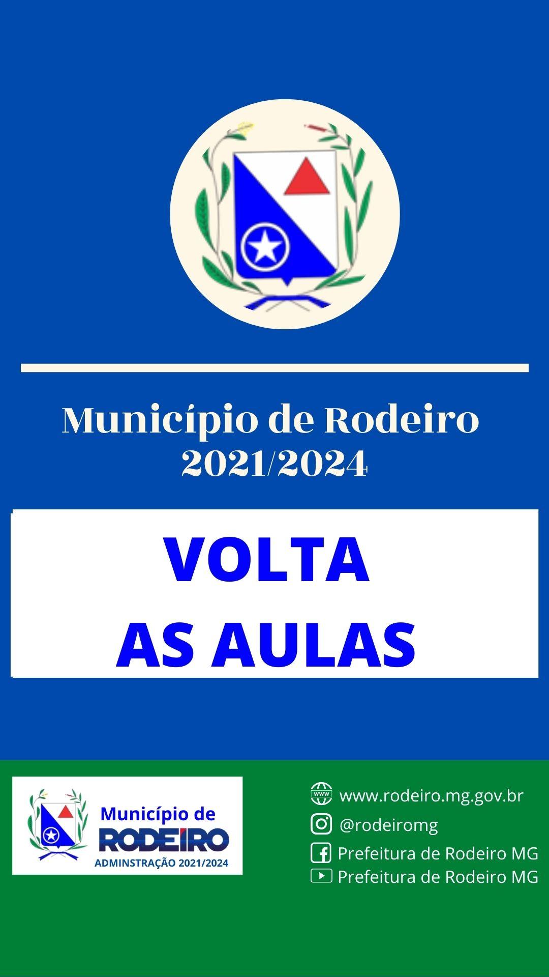 VOLTA ÀS AULAS - RODEIRO
