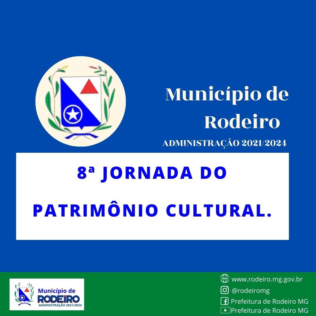 8ª Jornada do Patrimônio Cultural