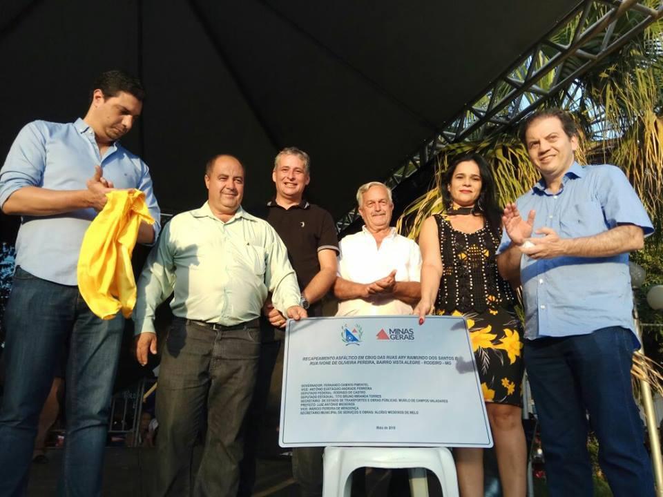 Dia Municipal do Programa Bolsa Família e inauguração de obras